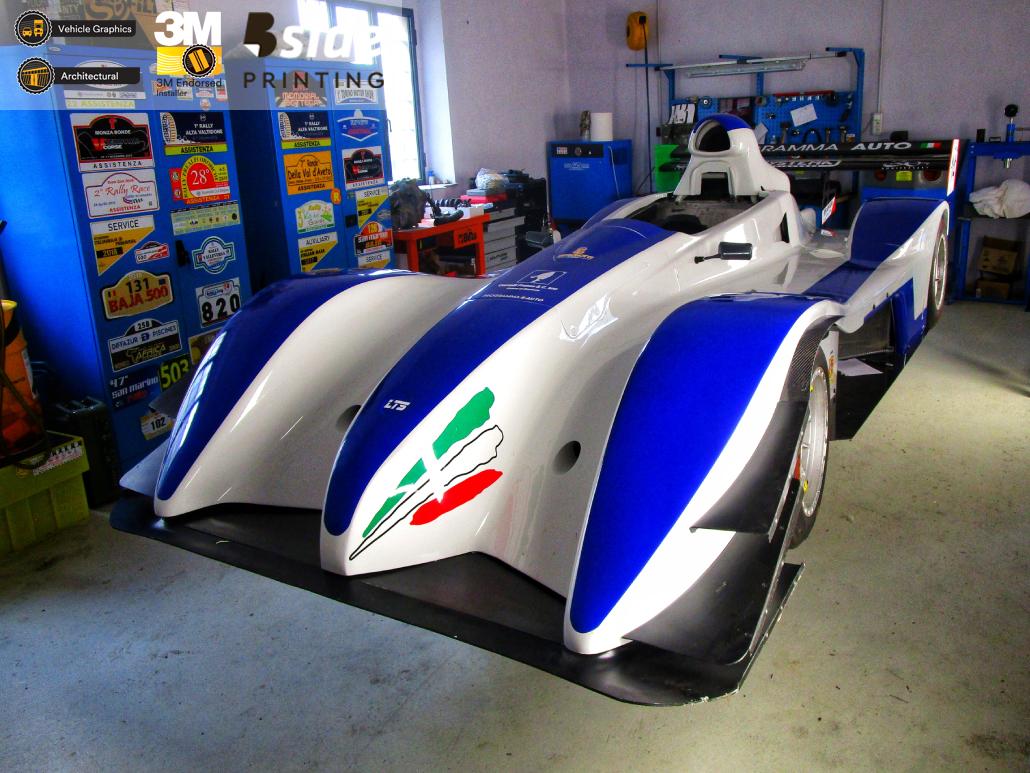 Customizzazione prototipo auto da corsa LTS Racing Team